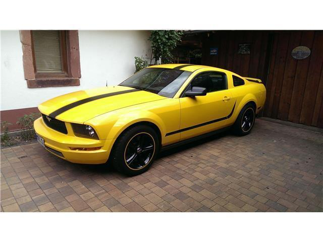 verkauft ford mustang coupe alu navi gebraucht 2008 km in riedstadt. Black Bedroom Furniture Sets. Home Design Ideas