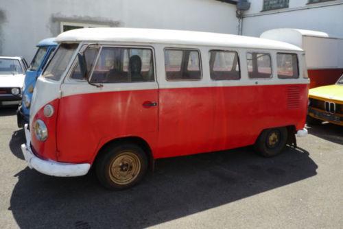 verkauft vw t1 fensterbus mit sitzen gebraucht 1967 23. Black Bedroom Furniture Sets. Home Design Ideas
