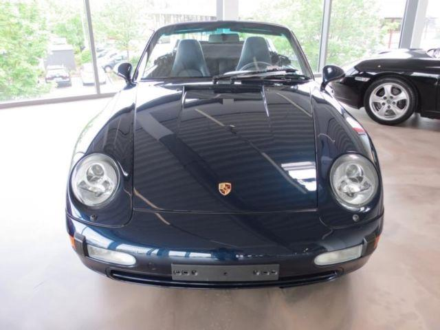 verkauft porsche 993 cabrio gebraucht 1997 km in schweinfurt. Black Bedroom Furniture Sets. Home Design Ideas