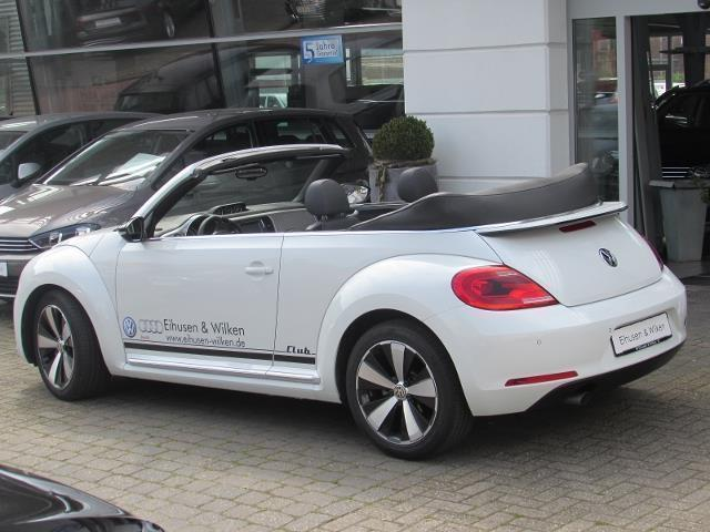 verkauft vw beetle cabrio 2 0 tdi club gebraucht 2016 14. Black Bedroom Furniture Sets. Home Design Ideas
