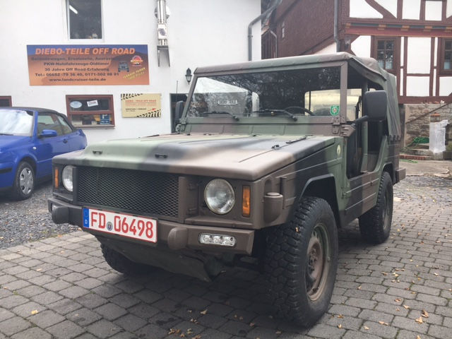 gebraucht diesel vw iltis 1987 km in h nfeld autouncle. Black Bedroom Furniture Sets. Home Design Ideas