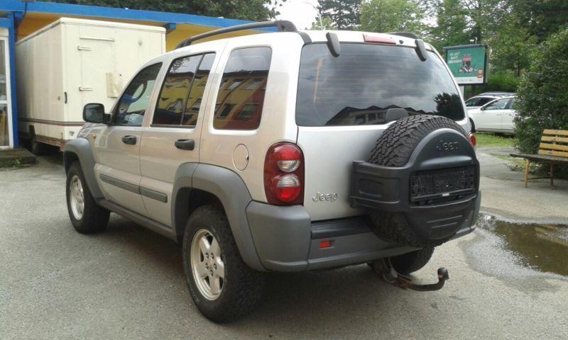 verkauft jeep cherokee 2 8 crd limited gebraucht 2007 km in chemnitz. Black Bedroom Furniture Sets. Home Design Ideas