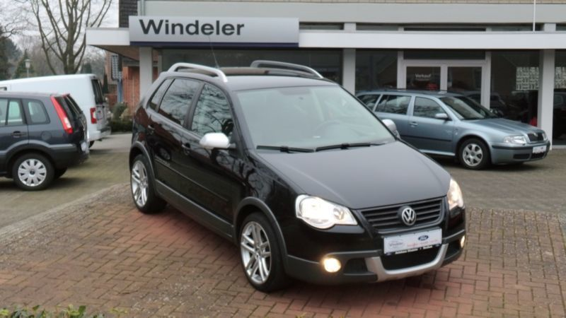 verkauft vw polo cross polo 1 2 gebraucht 2008 km in holleben. Black Bedroom Furniture Sets. Home Design Ideas