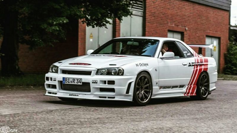 verkauft nissan skyline r34 gt t gebraucht 1999. Black Bedroom Furniture Sets. Home Design Ideas