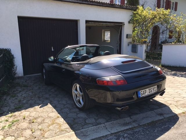 verkauft porsche 911 cabrio 996 gebraucht 2004 km in murnau am staffelsee. Black Bedroom Furniture Sets. Home Design Ideas
