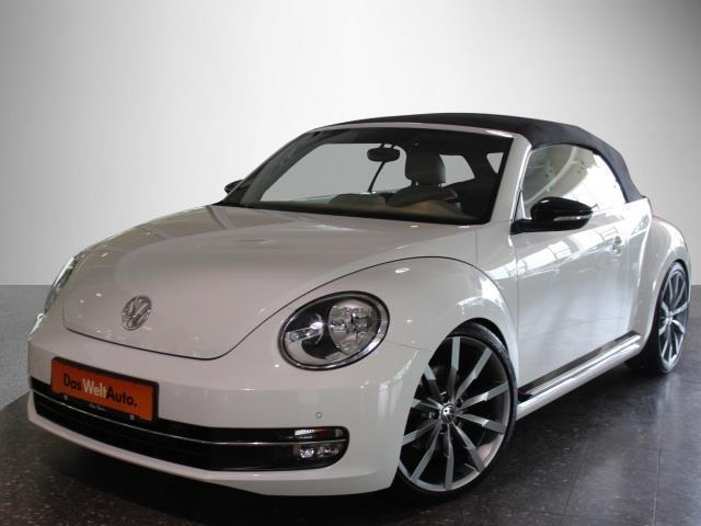 verkauft vw beetle beetle cabrio 2 0 t gebraucht 2015. Black Bedroom Furniture Sets. Home Design Ideas