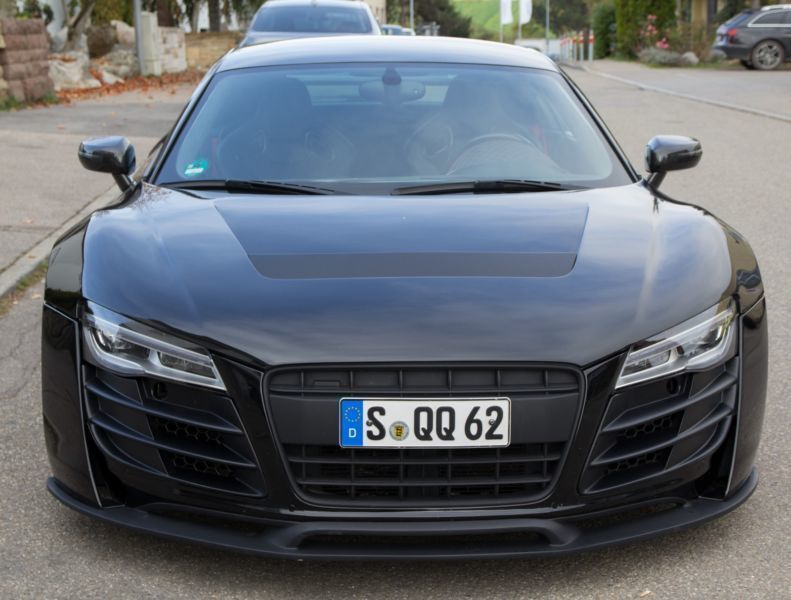 verkauft audi r8 coup 5 2 v10 exclusi gebraucht 2009 km in m nchen. Black Bedroom Furniture Sets. Home Design Ideas
