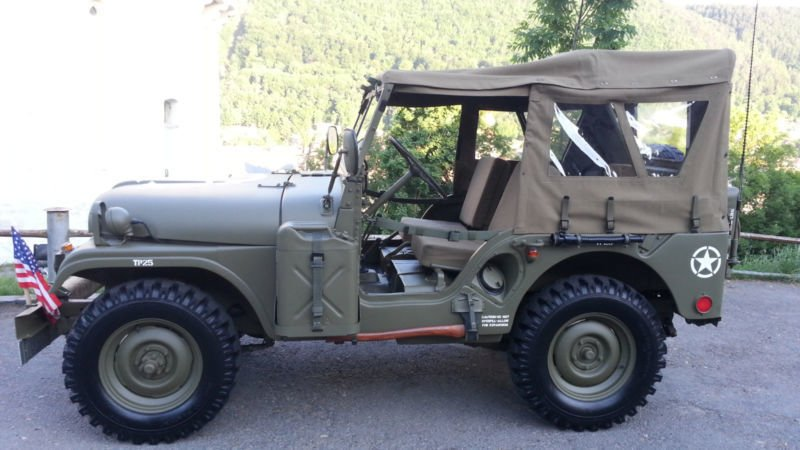 verkauft jeep willys m38a1 md gebraucht 1960 km in ismaning bei m nchen. Black Bedroom Furniture Sets. Home Design Ideas