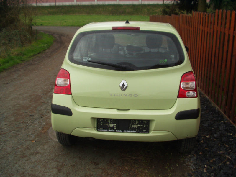 verkauft renault twingo 1 2 authentique gebraucht 2009 km in lensahn. Black Bedroom Furniture Sets. Home Design Ideas
