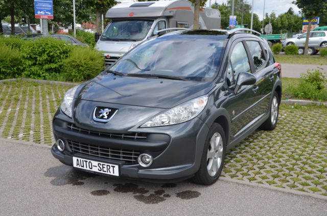 verkauft peugeot 207 outdoor sw hdi fa gebraucht 2009 km in m nchen. Black Bedroom Furniture Sets. Home Design Ideas