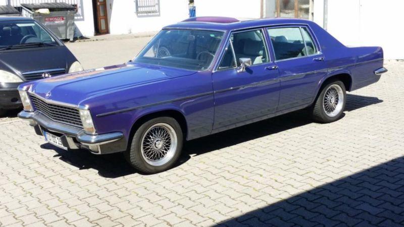 diplomat gebrauchte opel diplomat kaufen 24 g nstige autos zum verkauf. Black Bedroom Furniture Sets. Home Design Ideas