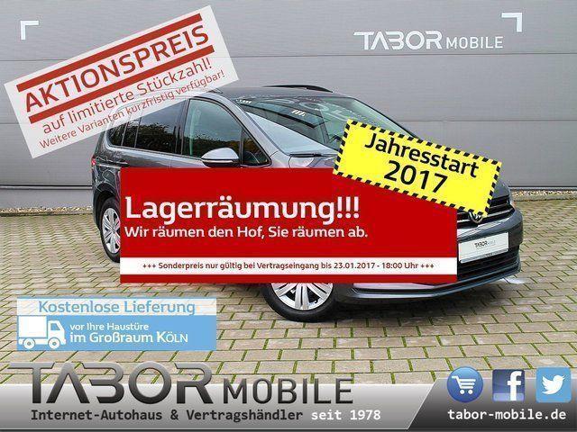 gebraucht VW Touran 1.6 TDI DSG 7S Nav PDC SHZ Front assist+acc