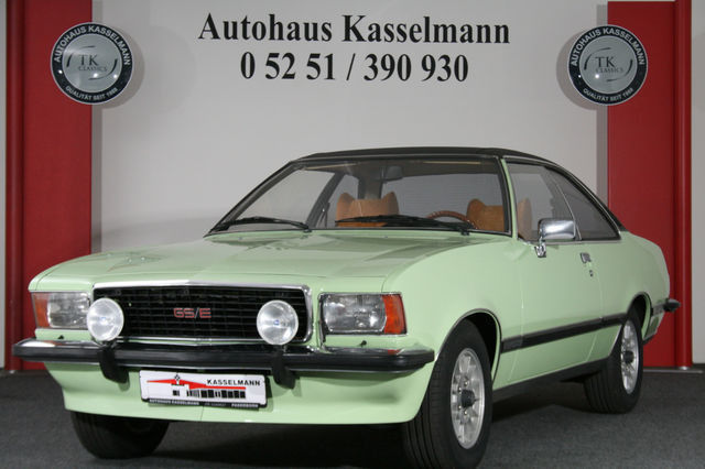 verkauft opel commodore b coup gse gebraucht 1977 67. Black Bedroom Furniture Sets. Home Design Ideas