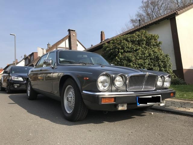 Verkauft Jaguar XJ12 Sovereign5.3 Auto., gebraucht 1985 ...