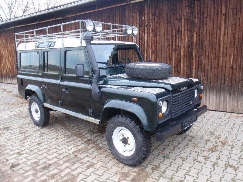 verkauft land rover defender 110 td5 gebraucht 1999 km in biebelsheim. Black Bedroom Furniture Sets. Home Design Ideas