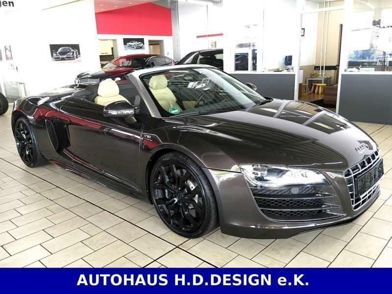 verkauft audi r8 spyder 5 2 fsi r tr gebraucht 2011. Black Bedroom Furniture Sets. Home Design Ideas
