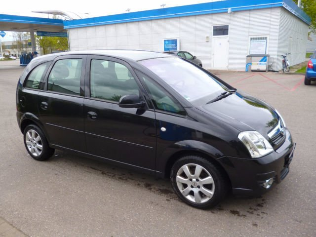 verkauft opel meriva 1 8 16v easytroni gebraucht 2007 km in augsburg. Black Bedroom Furniture Sets. Home Design Ideas