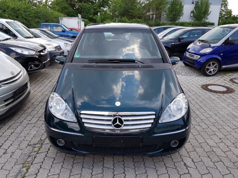 verkauft mercedes a150 a klasse klima gebraucht 2004 km in garching. Black Bedroom Furniture Sets. Home Design Ideas
