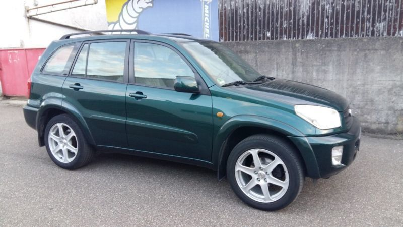 verkauft toyota rav4 4x4 automatik kl gebraucht 2002 km in mosbach. Black Bedroom Furniture Sets. Home Design Ideas