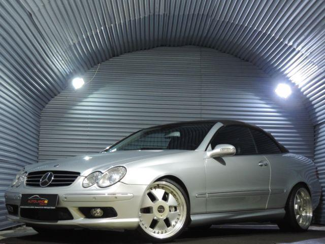 verkauft mercedes clk55 amg amg clk ca gebraucht 2005. Black Bedroom Furniture Sets. Home Design Ideas