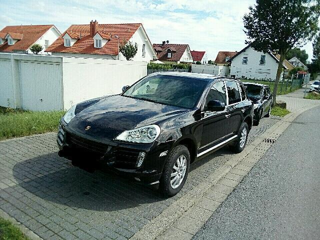 verkauft porsche cayenne diesel tiptro gebraucht 2009. Black Bedroom Furniture Sets. Home Design Ideas