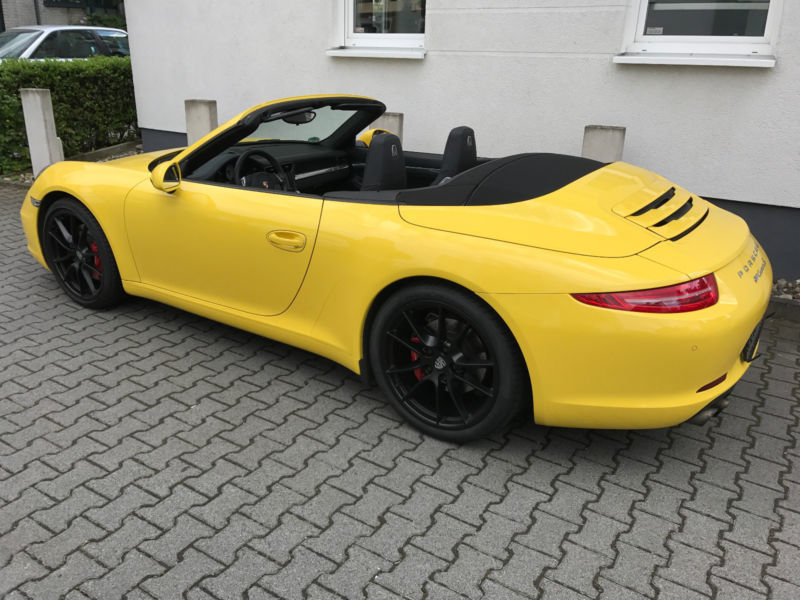 verkauft porsche 991 s cabrio mit ap gebraucht 2012. Black Bedroom Furniture Sets. Home Design Ideas