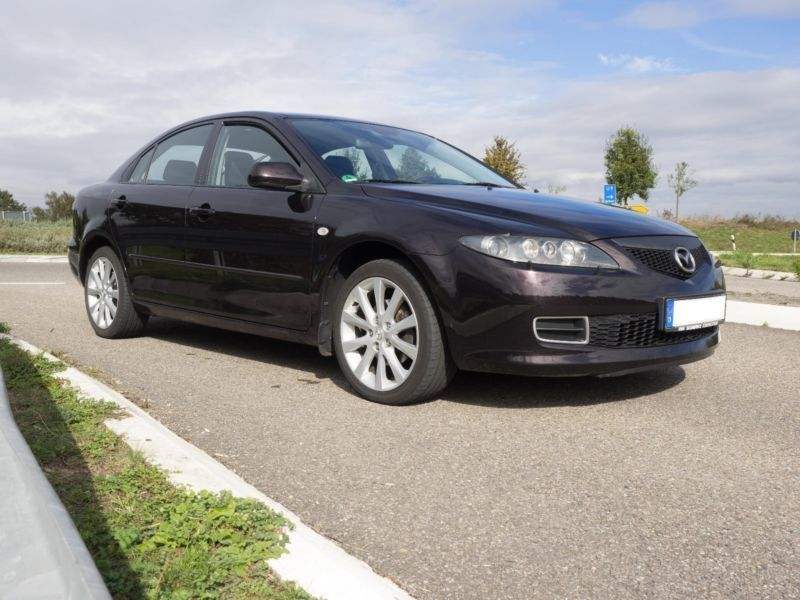 verkauft mazda 6 sport 2 3 top gebraucht 2006 km. Black Bedroom Furniture Sets. Home Design Ideas