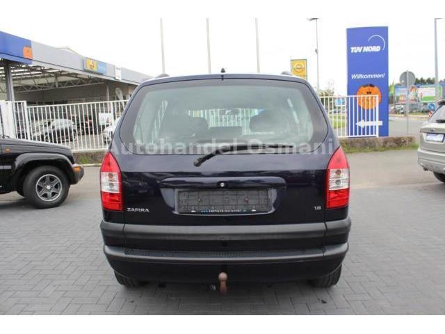 verkauft opel zafira 1 8 elegance gebraucht 2003 km in ahaus. Black Bedroom Furniture Sets. Home Design Ideas