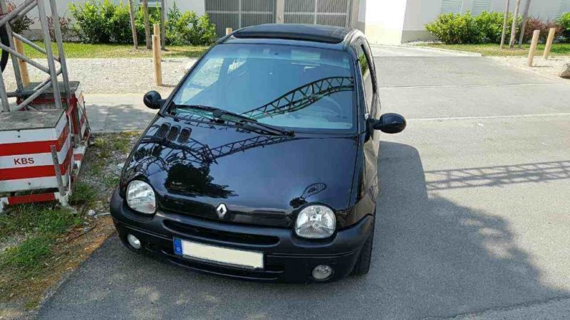 verkauft renault twingo 1 2 16v expres gebraucht 2001 km in m nchen. Black Bedroom Furniture Sets. Home Design Ideas