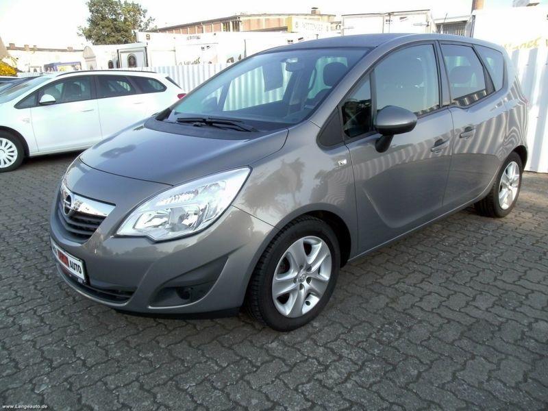 verkauft opel meriva b 1 4 edition ahk gebraucht 2012 km in augsburg. Black Bedroom Furniture Sets. Home Design Ideas