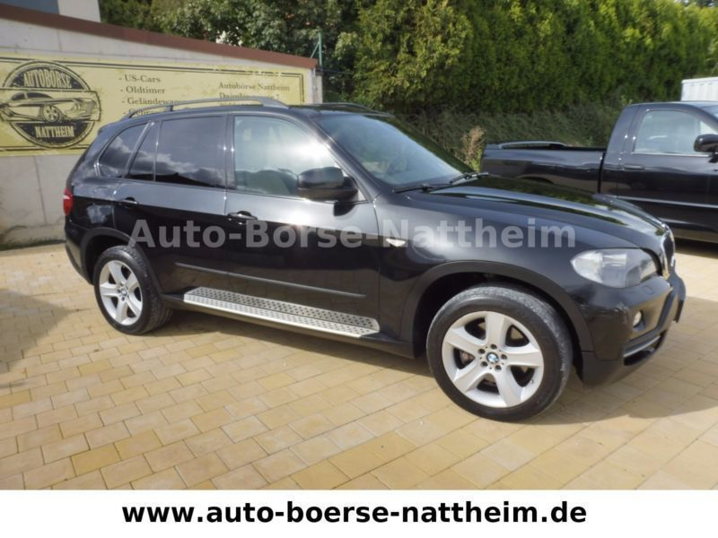 verkauft bmw x5 gebraucht 2007 km in nattheim. Black Bedroom Furniture Sets. Home Design Ideas
