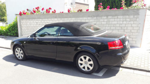 verkauft audi a4 cabriolet gebraucht 2006 km in. Black Bedroom Furniture Sets. Home Design Ideas