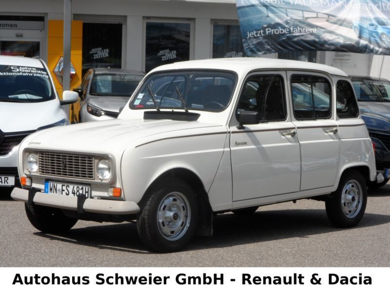 gebraucht 34ps sondermodell savane original renault r4 1987 km in fellbach. Black Bedroom Furniture Sets. Home Design Ideas
