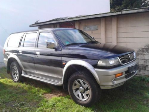verkauft mitsubishi pajero sport 3 0 v gebraucht 1999 km in hainburg. Black Bedroom Furniture Sets. Home Design Ideas
