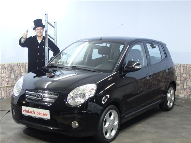 verkauft kia picanto 1 1 gebraucht 2009 km in altshausen. Black Bedroom Furniture Sets. Home Design Ideas