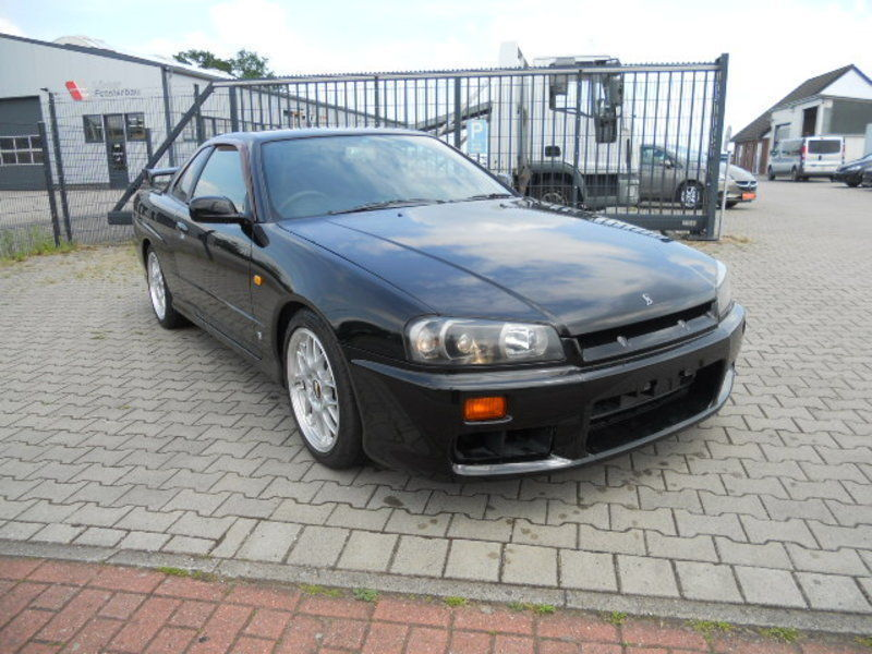 verkauft nissan skyline r34 gt t gebraucht 1998. Black Bedroom Furniture Sets. Home Design Ideas