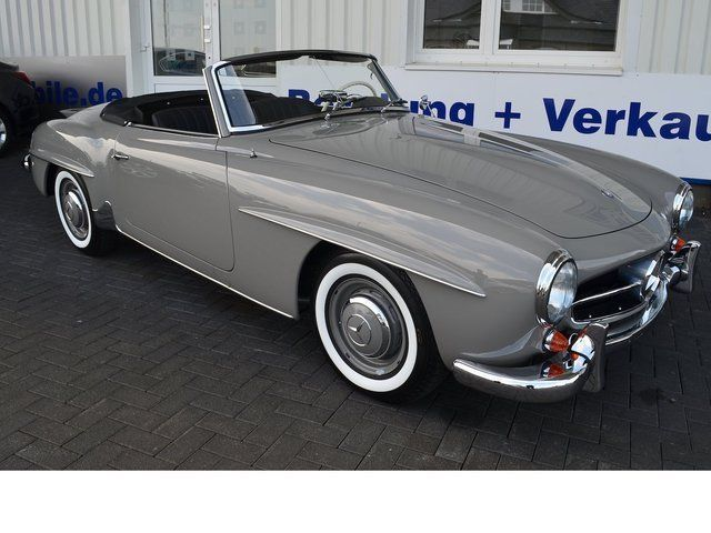verkauft mercedes 190 sl kronseder res gebraucht 1961 1. Black Bedroom Furniture Sets. Home Design Ideas