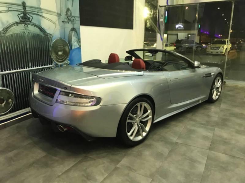 verkauft aston martin dbs cabrio touch gebraucht 2010. Black Bedroom Furniture Sets. Home Design Ideas