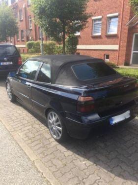 verkauft vw golf cabriolet 1 6 einze gebraucht 1998 km in henstedt ulzburg. Black Bedroom Furniture Sets. Home Design Ideas
