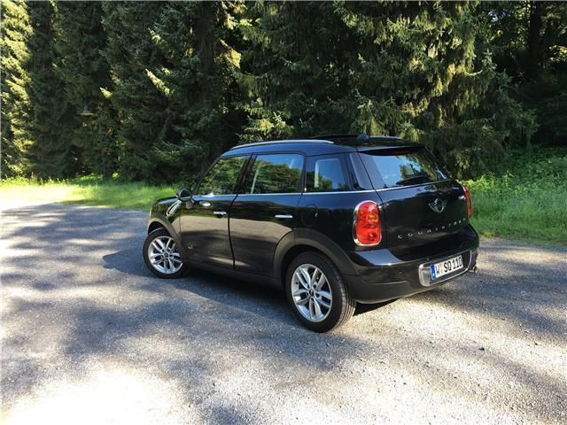 verkauft mini cooper d countryman lede gebraucht 2013. Black Bedroom Furniture Sets. Home Design Ideas