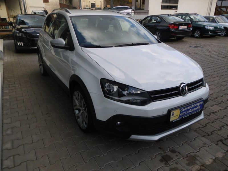 verkauft vw polo cross 1 4 tdi blue mo gebraucht 2014 km in gehrweiler. Black Bedroom Furniture Sets. Home Design Ideas