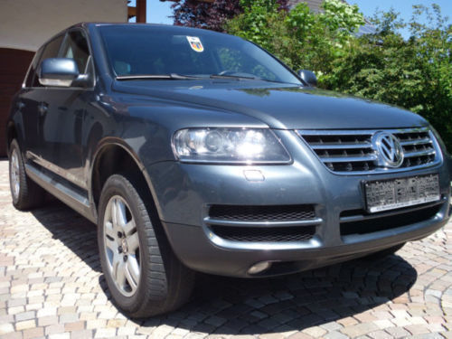 verkauft vw touareg v6 tdi gebraucht 2005 km in troisdorf. Black Bedroom Furniture Sets. Home Design Ideas