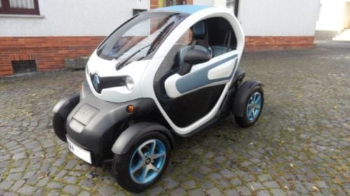 verkauft renault twizy color mit winte gebraucht 2012 km in meudt. Black Bedroom Furniture Sets. Home Design Ideas