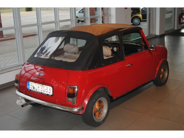 verkauft mini 1300 cabrio mpi nur 63 gebraucht 2000 km in berlin. Black Bedroom Furniture Sets. Home Design Ideas