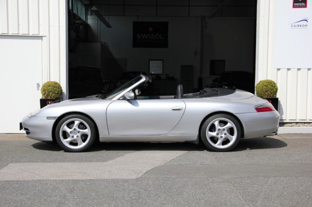 verkauft porsche 996 cabrio tiptroni gebraucht 1999 km in bayern. Black Bedroom Furniture Sets. Home Design Ideas