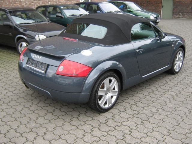 verkauft audi tt roadster 1 8t leder z gebraucht 2003. Black Bedroom Furniture Sets. Home Design Ideas
