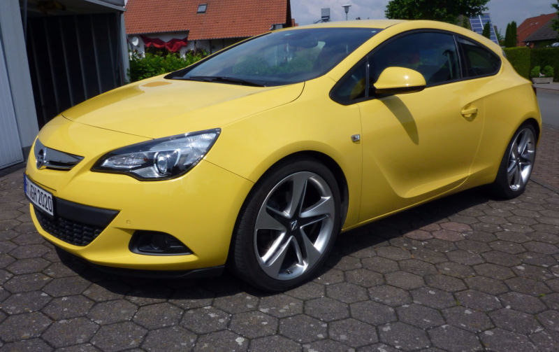 verkauft opel astra gtc gtc 1 6 turbo gebraucht 2011 km in steinheim. Black Bedroom Furniture Sets. Home Design Ideas