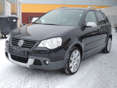 verkauft vw polo cross 1 6 automatik gebraucht 2008 km in bebra. Black Bedroom Furniture Sets. Home Design Ideas