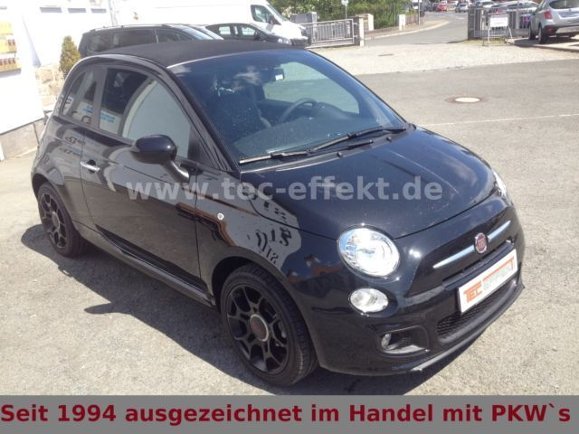 verkauft fiat 500 cabrio sport leder k gebraucht 2014. Black Bedroom Furniture Sets. Home Design Ideas