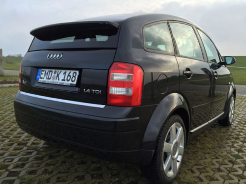 verkauft audi a2 1 4 tdi gebraucht 2000 km in emden. Black Bedroom Furniture Sets. Home Design Ideas